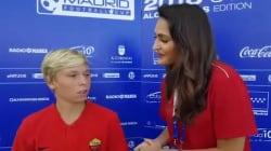 Il figlio di Totti in campo è un esempio di fairplay (e parla inglese meglio del
