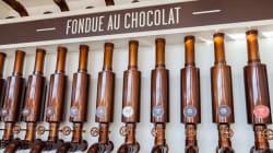 Chocolats Favoris gâte les astronautes de la Station spatiale