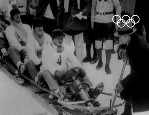 See Olympic bobsled's dramatic transformation