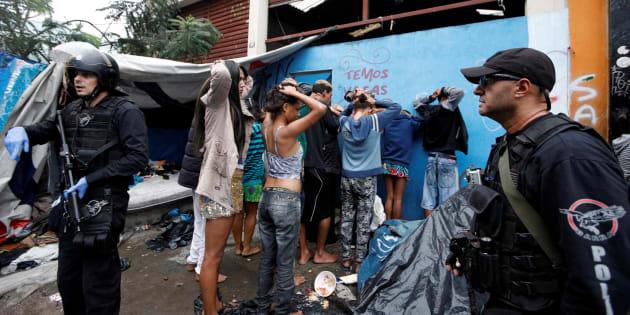 Nesta semana, operação da Prefeitura de São Paulo com a PM destruiu a Cracolândia no centro de São Paulo.
