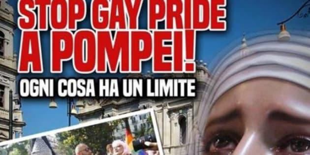 """Forza Nuova minaccia il Gay Pride a Pompei: """"È come l"""