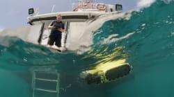サンゴ礁を絶滅から救うロボットLarvalBotはサンゴの幼生を何百万も海中に散布する