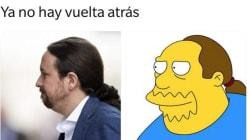 La efusiva reacción de Pablo Iglesias al ver esta
