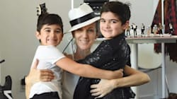 Celine Dion Is One Proud Mama As Her Twins Turn