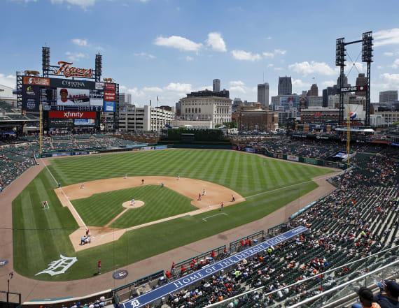 Video: Detroit Tigers worker caught spitting in food