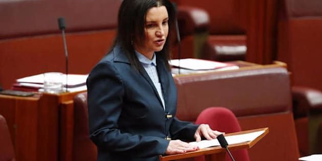 Number eight, Jacqui Lambie.