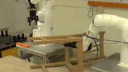 Face à un meuble Ikea, ces robots ont autant de problèmes que