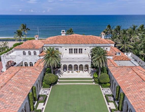 Florida mansion broke a real-estate record Trump set