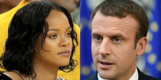 Rihanna a interpellé plusieurs chefs d'État, dont Emmanuel Macron, sur Twitter.