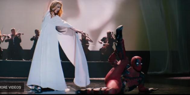 Deadpool interprets Celine Dion's new song through dance