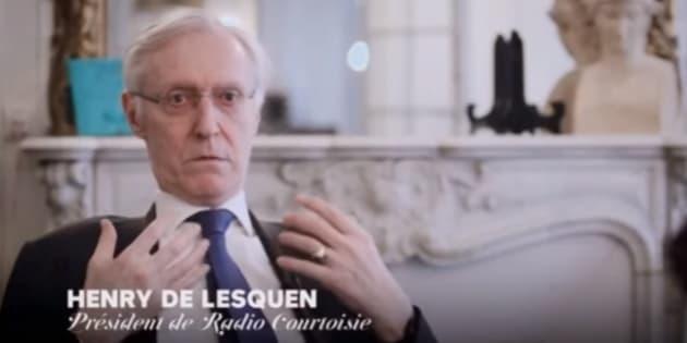 Jugé trop extrémiste, Henry de Lesquen évincé de Radio Courtoisie