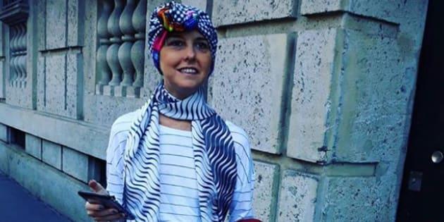 """Nadia Toffa sorridente per le strade di Milano: """"Farsi"""