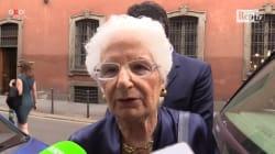 La senatrice Segre scampata all'Olocausto:
