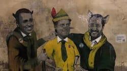Conte-Pinocchio, ingannato dal gatto Di Maio e la volpe Salvini. La provocazione di