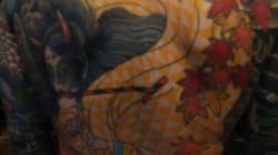 Mondial du tatouage: les bases du tatouage japonais expliquées par un pro en moins de deux