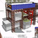Sul blog di Grillo spunta un progetto del nuovo Ponte, una gabbia per non
