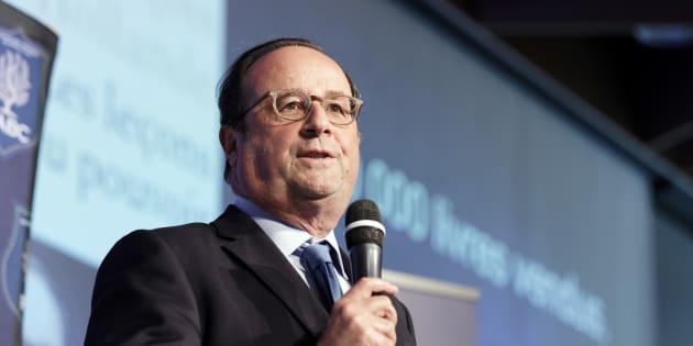 François Hollande à Lille le 18 juin 2018.