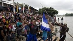 FOTOS: Se cumplió la meta a Chiapas, ¿México recibirá a la caravana