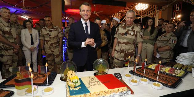 Emmanuel Macron au Niger pour réveillonner avec les troupes françaises