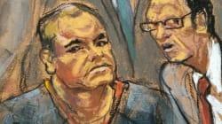 El Chapo llega a la corte de NY para pelear condiciones