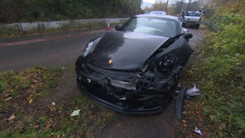 Chris Harris crashes his Porsche in Wales | Autoblog