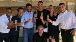 Ronaldo e champagne. La Juve adesso vale 900