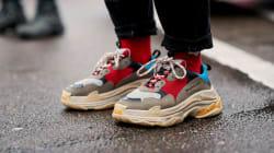 Pourquoi les «dad shoes» sont les chaussures de l'année