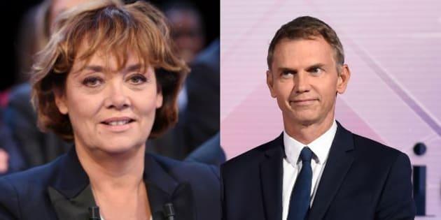 Nathalie Saint-Cricq et Christophe Jakubyszyn animeront le débat d'entre-deux-tours de la présidentielle.