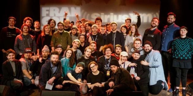 Les participants de l'édition 2018 des Francouvertes.