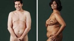 9 personas se desnudan para mostrar lo bella que es la diversidad