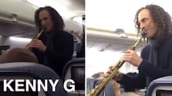 Kenny G Surprised Delta Passengers With An Impromptu