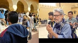 VIDEO: A Bunch Of Protesters Attacked Sanjay Leela Bhansali And Stopped The Shoot Of 'Padmavati' In
