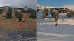 Snowtastic Before-And-After Pics Of The Weekend Aussie
