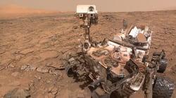 Les roues de Curiosity sur Mars commencent à le