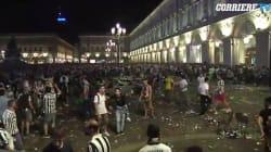 À Turin, un mouvement de panique fait un millier de blessés pendant le