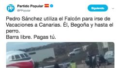 Lo que el PP olvida cuando critica a Pedro Sánchez por usar el