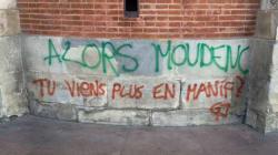 À Toulouse, les gilets jaunes ont laissé un message plein d'ironie à leur maire