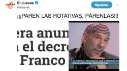 El tuit de 'El Jueves' que provoca el cachondeo general por lo que dice del PP, de Franco y de 'El