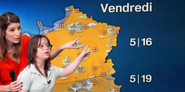 Mélanie, 21 ans, présentera la météo le 14 mars à 20h35 sur France 2.