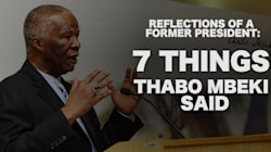 7 Things Mbeki Said About His Presidency And The State Of South