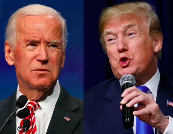 Trump-Biden feud sparks savage meme