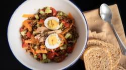 Si quieres proteínas en la ensalada, prueba esta