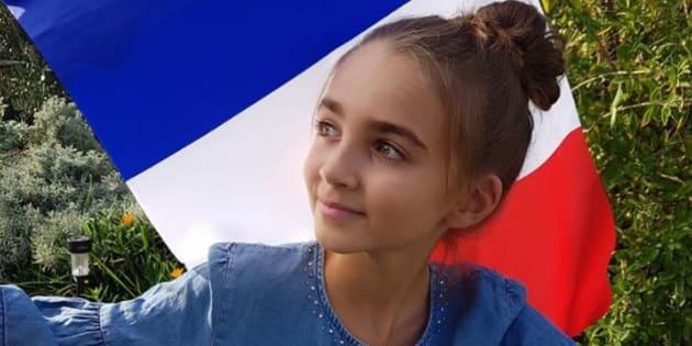 """Angelina, gagnante de """"The Voice Kids 4"""" représente la France à l'Eurovision junior, le 25 novembre 2018 en Biélorussie."""