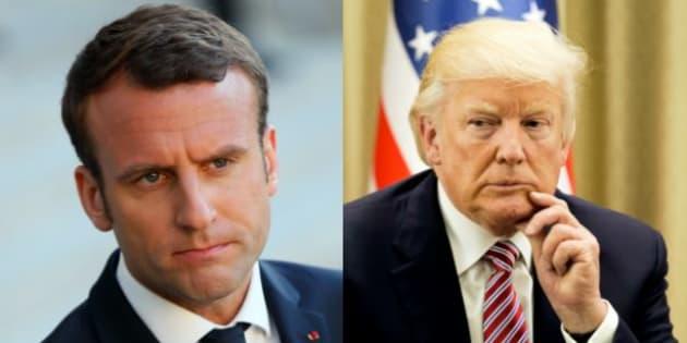 Avant la rencontre entre Macron et Trump, voici ce qu'ils pensent l'un de l'autre