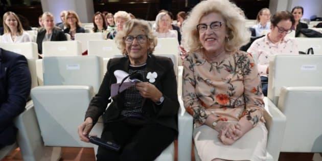 Marzenna Adamczyk y Manuela Carmena
