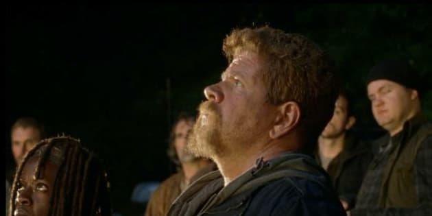 """Dans """"The Walking Dead"""", e01s07, Abraham nous a fait pleurer."""