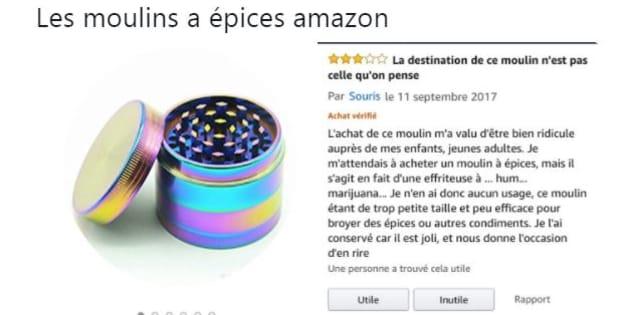"""Les """"moulins à épices"""" d'Amazon ne sont peut-être pas ce que vous imaginez"""