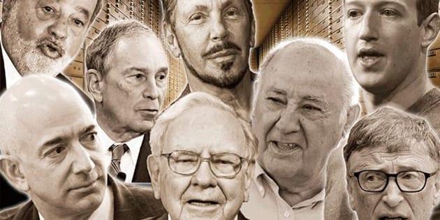 Ces huit hommes sont plus riches que la moitié la plus pauvre de la population mondiale