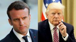 Ce que Macron et Trump pensent l'un de