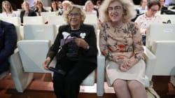 Manuela Carmena reacciona a esta foto... y cuelga el vídeo más